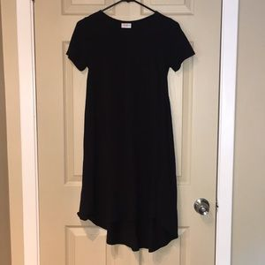 LuLaRoe Carley Dress in black, size xxs